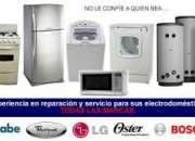 Reparación e instalación mantenimiento de neveras, lavadoras, secadoras, cocinas y aire ac