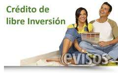 Credito de linea blanca, marron, vehiculo y libre inversion