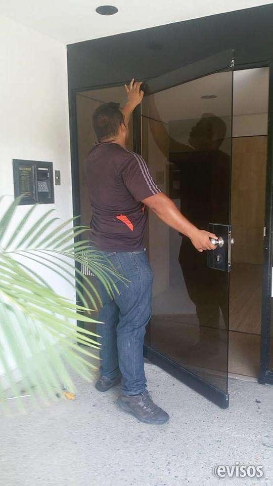 Reparacion mantenimiento puertas de vidrio caracas frenos hidraulicos