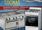 Cocinas domésticas e industriales reparación, mantenimiento y restauración