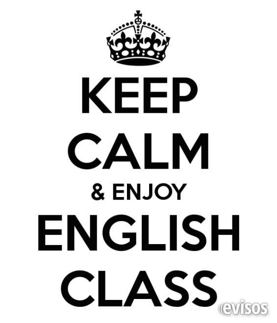 Clases de inglés - a domicilio