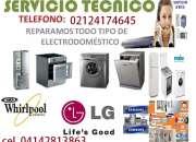 Servicio técnico whirlpool lavadora frigidaire ge nevera lavadoras lg