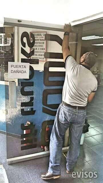 @www. reparacion/mantenimiento en puertas vidrio, frenos,gatos hidraulicos caracas