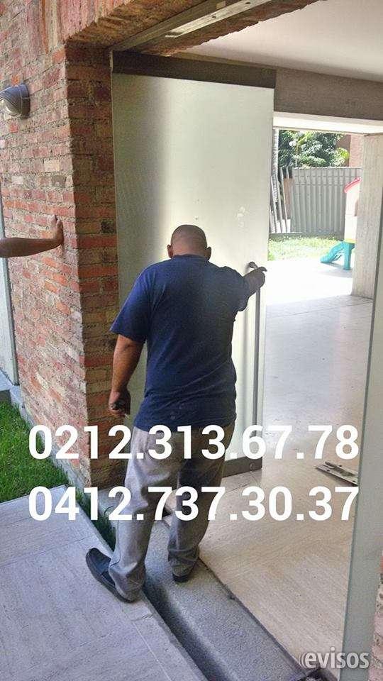 @www. reparacion mantenimiento @' puertas de vidrio frenos hidraulicos servicio tecnico