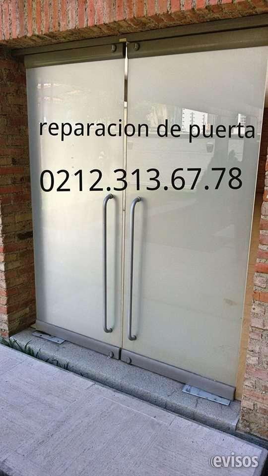 @www. reparacion mantenimiento puertas de vidrio y cristal templado frenos 02124191081