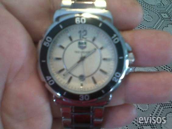 Reloj pulsera de acero inoxidable para caballero marca tag heuer
