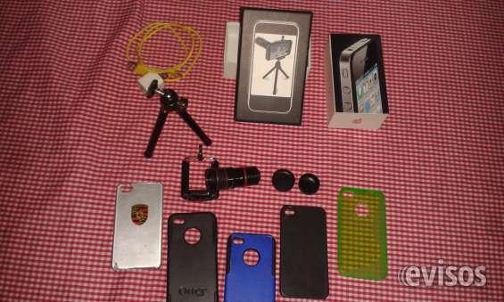 383e06b4781 Prev Next. Iphone 4 16 gb + zoom óptico x8 + lente y 4 forros. Ver estas  fotos en detalle