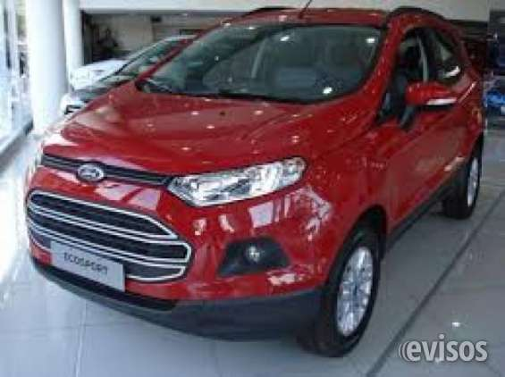 Vendo ford ecosport 2017