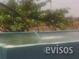 Tanque piscina de 24 mil litros