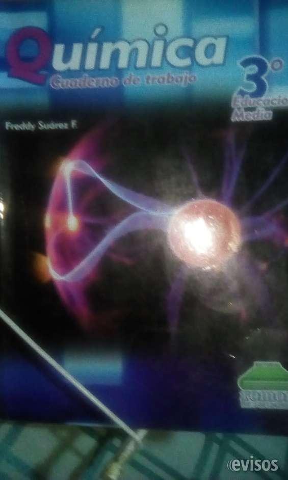 Quimica cuaderno de trabajo 3 año educación media