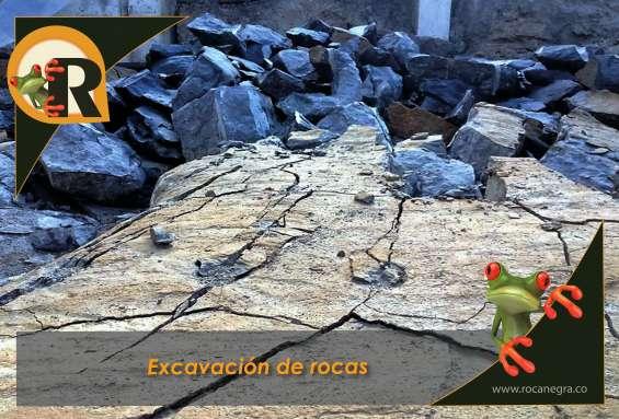 Excavación de mantos rocosos