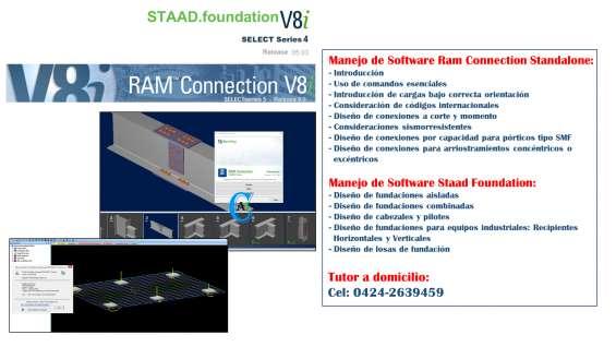 Curso de staad foundation y ram connection