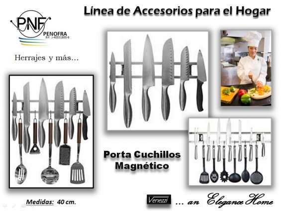 Porta cuchillos magnéticos consorcio penofra, c.a.