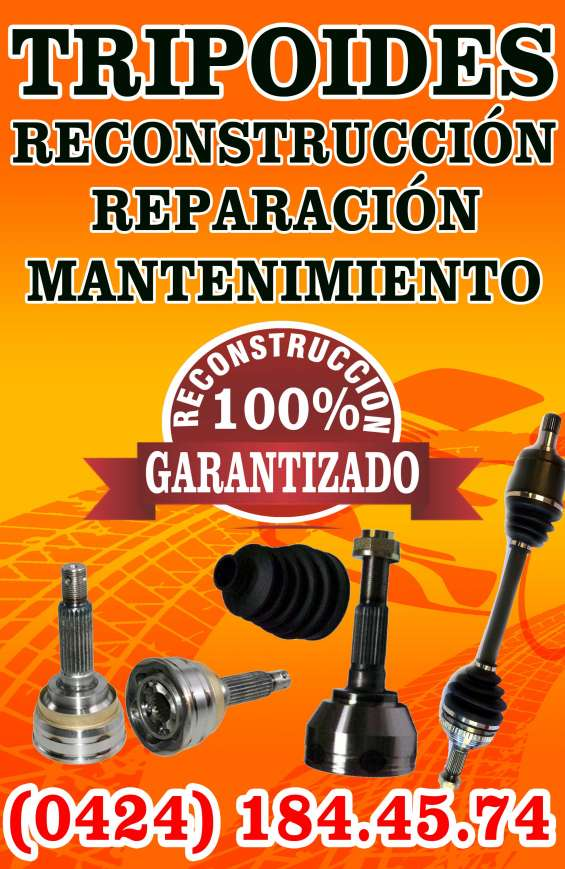 Reconstruccion y reparacion de puntas de tripoides