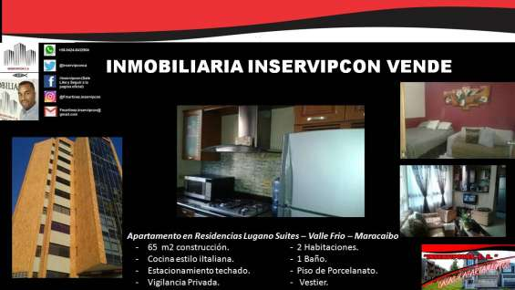 Se vende hermoso apartamento en el sector valle frio, maracaibo