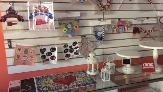 Cacao mini market de repostería - interior