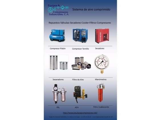 Equipos & compresores industriales c.a