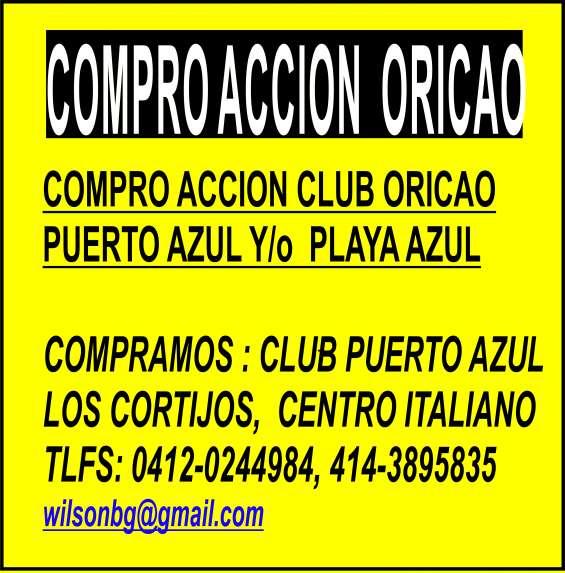 Compramos acciones clubes sociales, golf, playa, equitacion, squash, tennis