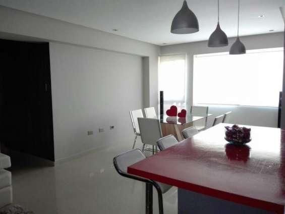 Rent-a-house vende impecable apartamento. totalmente amoblado código: 18-7155