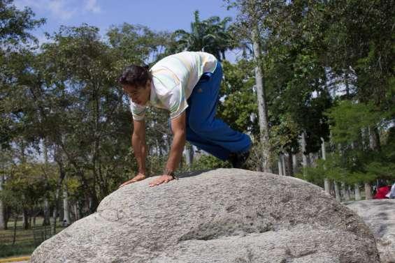 Kong vault en piedra alta