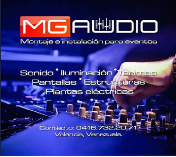 Sonido mg audio