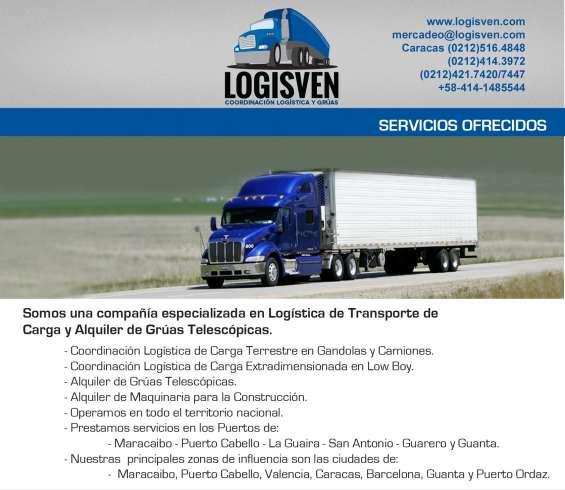Transporte en batea/trailer