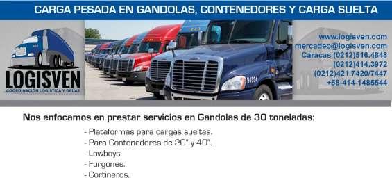 Fotos de Transporte de carga de tractocamiones - contenedores de 20 pies 4