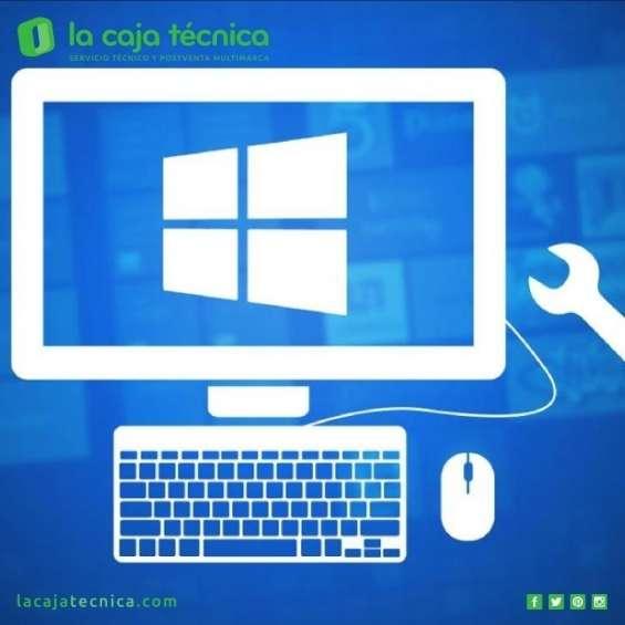 Formateo e instalacion sistema operativo a domicilio