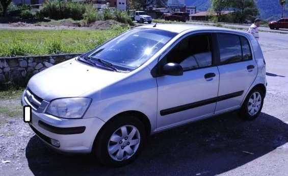 Se vende carro hiunday getz, año 2006, sincrónico, con aire, mérida, venezuela.