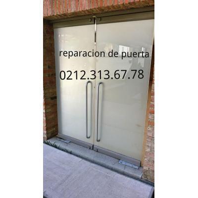 Reparacion mantenimiento puertas de vidrio venta de frenos hidraulicos02123136778 r