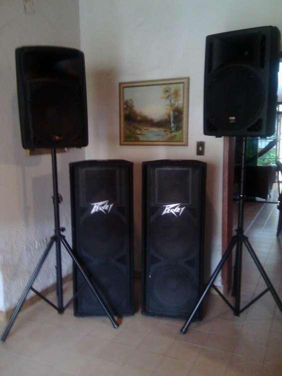 Alquiler de equipo de sonido para conferencias o afines 04124600065