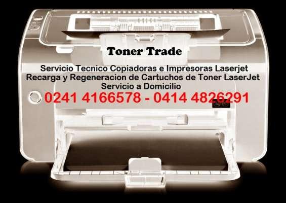 Fotocopiadoras e impresoras laserjet servicio técnico - valencia carabobo