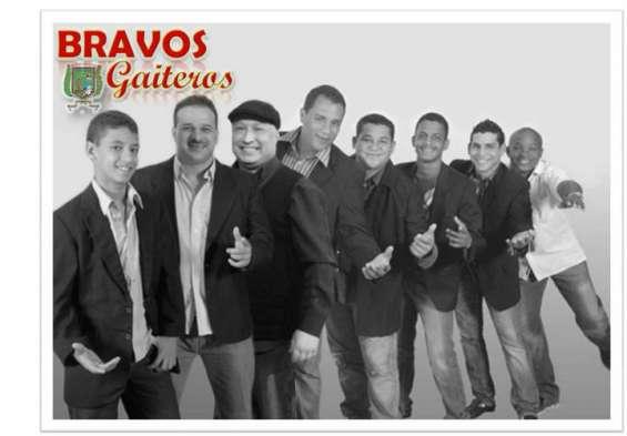 Grupo musical bravos gaiteros