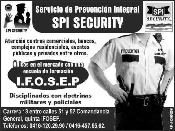 Bpi security spi servicios en prevención integral fp