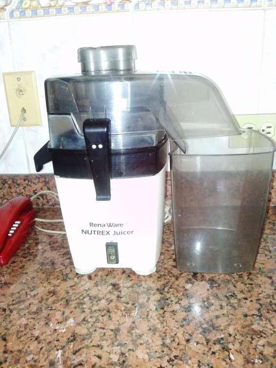 Vendo usado extractor de jugos rena ware