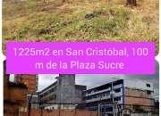 Venta de terreno en el centro de San Cristóbal, estado Táchira