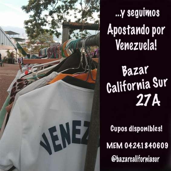 Apostando por venezuela organizamos el bazar para que puedas vender o comprar lo que quieras! estás cordialmente invitado! te esperamos!