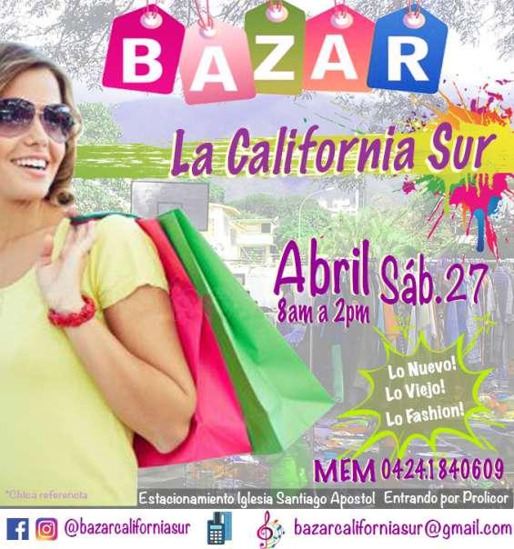 Organizamos el bazar california sur cada 15 días para que puedas vende y comprar lo nuevo lo viejo lo fashion! te esperamos!