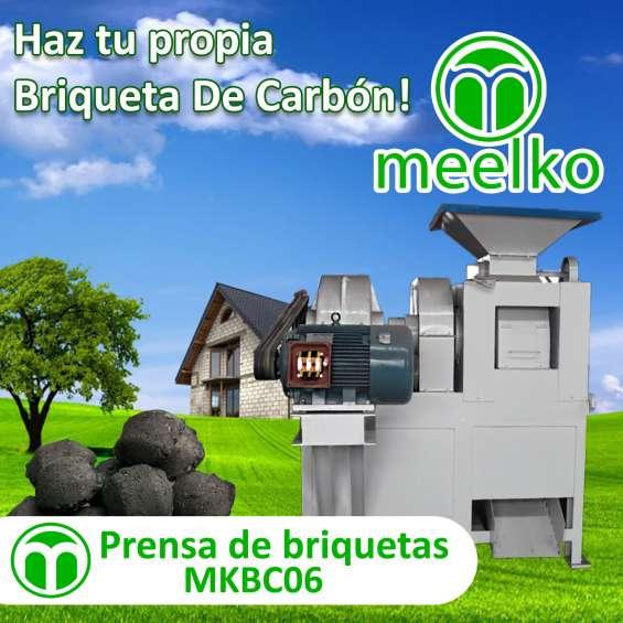 Fotos de Prensa de briquetas mkbc06 meelko 1