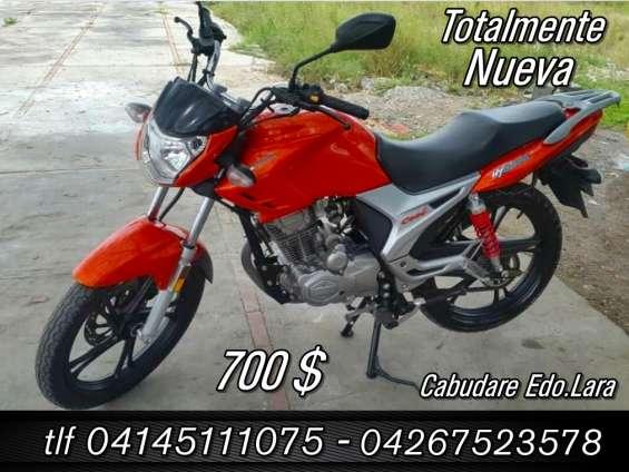 Moto nueva hj cool haojue suzuki 700$