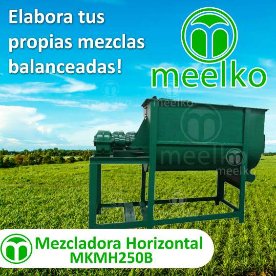 Mezcladora horizontal mkmh250b meelko