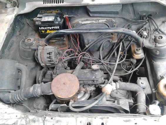 Fiat uno motor 1.3 1995 blanco 2 puertas