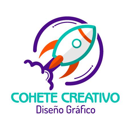 Diseño gráfico - cohete creativo