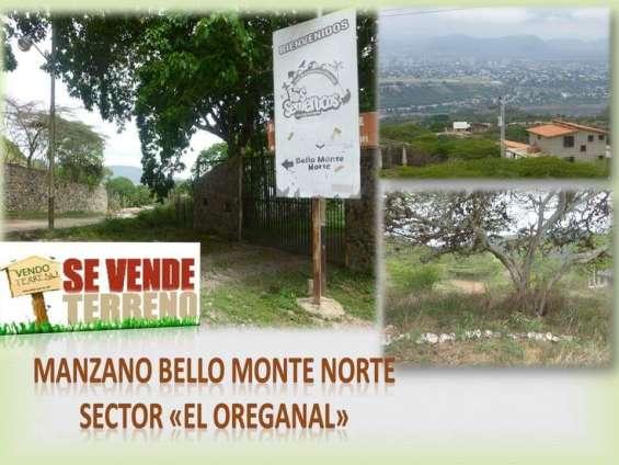 Terrenos propios a la venta por parcelas de 1000 metr2 manzano bello monte norte