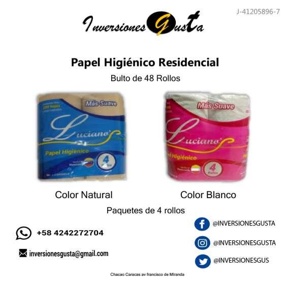 Papel higienico residencial