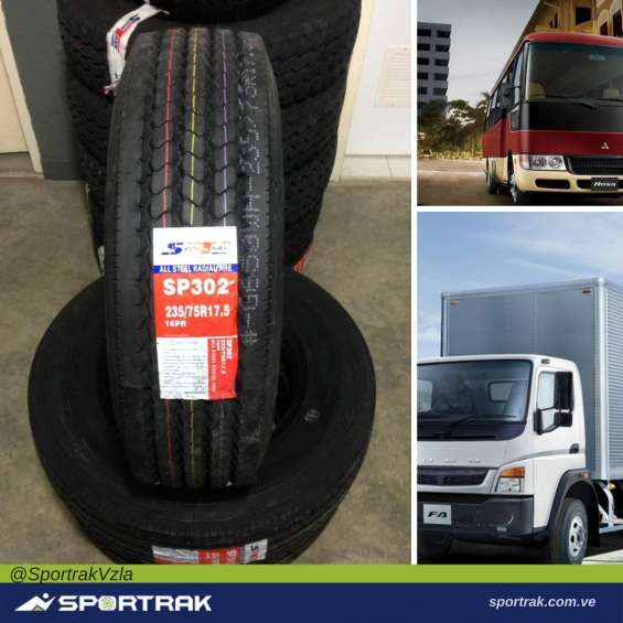 Caucho 235/75 r17,5-16pr camion autobus sportrakvzla
