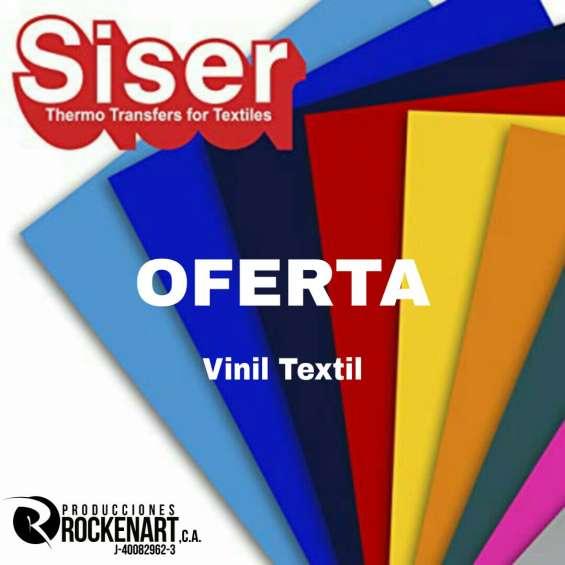Ofertazo en vinil textil