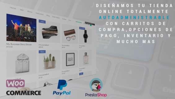 Diseño de tienda online profesional