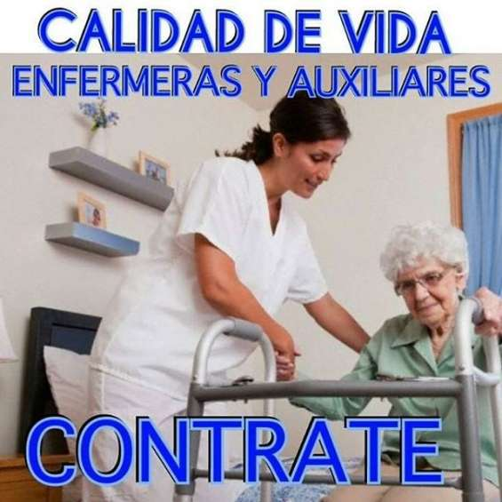 Auxiliar de enfermeria - cuidadora domestica