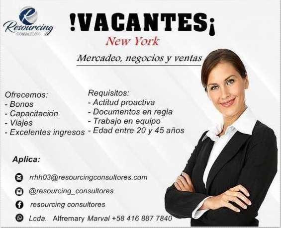 ¡empleo en new york!